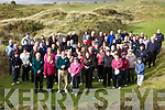Many of the Members of Waterville G.C.  came out on Sunday last to wish the new Captains Finbar McGillicuddy & Moira Lynott, Presidents Michael O'Sullivan & Abina Quirke the very best for the coming year.