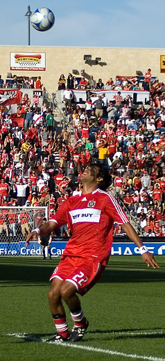 Wilman Conde of the Chicago Fire