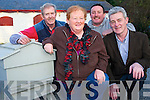 """Margaret O'Shea who is chairperson of the Beaufort Beekeepers Association, pictured with John """"Tuddy"""" Clifford, Pat Cuffe and Padraig O'Sullivan."""