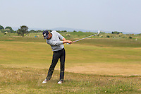 Noel Anderson (RSA) on the 2nd during Round 4 of the East of Ireland Amateur Open Championship sponsored by City North Hotel at Co. Louth Golf club in Baltray on Monday 6th June 2016.<br /> Photo by: Golffile   Thos Caffrey