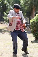 Fecha: 08-09-2012. Borracho, representación teatral en Alba, Palas de Rei