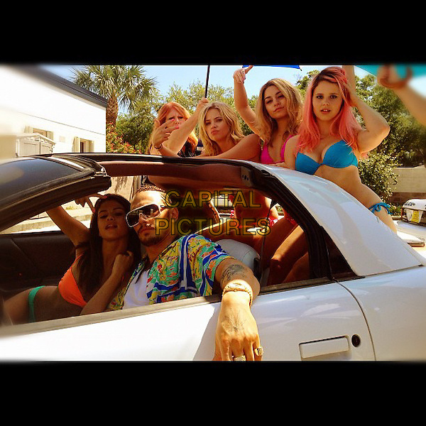Rachel Korine, Selena Gomez, Ashley Benson, James Franco, Vanessa Hudgens<br /> in Spring Breakers (2012) <br /> *Filmstill - Editorial Use Only*<br /> CAP/NFS<br /> Supplied by Capital Pictures