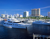 USA, Florida, Fort Lauderdale: Yachthafen, Hotels und Appartmentanlagen | USA, Florida, Fort Lauderdale