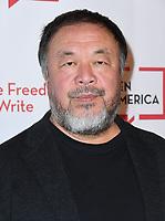 02 November 2018 - Beverly Hills, California - Ai Weiwei. Beverly Wilshire Hotel held at The Beverly Wilshire Hotel. <br /> CAP/ADM/BT<br /> &copy;BT/ADM/Capital Pictures