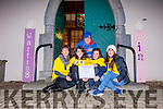Bernie Dowling, Lucy Dowling, Bríd Spillane, Eileen O'Grady and Cody Stafford from Castlegregory Youth Council are getting ready for their second annual sleepout this Friday night in aid of the Simon Community.