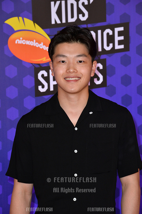 Alex Shibutani at the Nickelodeon Kids' Choice Sports Awards 2018 at Barker Hangar, Santa Monica, USA 19 July 2018<br /> Picture: Paul Smith/Featureflash/SilverHub 0208 004 5359 sales@silverhubmedia.com