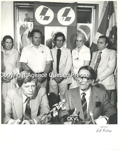 Claude Ryan<br /> <br /> <br /> <br /> PHOTO :  Agence Quebec Presse