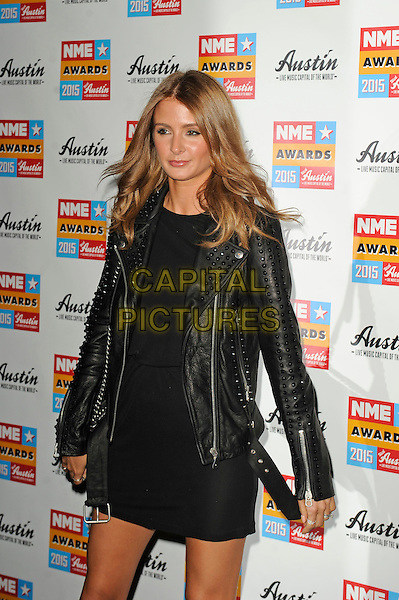 LONDON, ENGLAND - FEBRUARY 18: Millie Macintosh attending the NME Awards at Brixton Academy on February 18 2015 in London, England.<br /> CAP/MAR<br /> &copy; Martin Harris/Capital Pictures