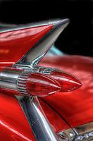 Classic car.Cadillac
