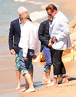 www.acepixs.com<br /> <br /> May 20 2017, Cannes<br /> <br /> Arnold Schwarzenegger (R) attending a photocall for 'Wonders of the Sea 3D' during the 70th annual Cannes Film Festival at Nikki Beach on May 20, 2017 in Cannes, France.<br /> <br /> <br /> By Line: Famous/ACE Pictures<br /> <br /> <br /> ACE Pictures Inc<br /> Tel: 6467670430<br /> Email: info@acepixs.com<br /> www.acepixs.com
