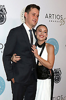 LOS ANGELES - JAN 30:  Austen Rydell, Billie Lourd at the 35th Artios Awards at the Beverly Hilton Hotel on January 30, 2020 in Beverly Hills, CA