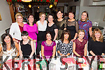 Enjoying the Scoil Eoin, Balloonagh Christmas Party at the Brogue on Friday. were Front l-r Emma Sugrue, Denise Hennessy, Trease Greany, Catherine Sugrue, Aileen Griffin, Jo O'Connon.  Back l-r Veronica Donovan, Siobhan Meehan, Susan Sugrue, Triona Daly, Elaine Dalton, Brenda Burke, Carmel Godley.