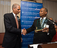 Columbia University Honors, Attorney General Eric Holder