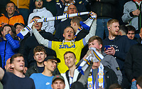 Leeds United fans enjoy the pre-match atmosphere<br /> <br /> Photographer Alex Dodd/CameraSport<br /> <br /> The EFL Sky Bet Championship Play-off  First Leg - Derby County v Leeds United - Thursday 9th May 2019 - Pride Park - Derby<br /> <br /> World Copyright © 2019 CameraSport. All rights reserved. 43 Linden Ave. Countesthorpe. Leicester. England. LE8 5PG - Tel: +44 (0) 116 277 4147 - admin@camerasport.com - www.camerasport.com