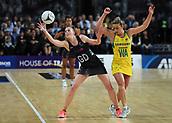 5th October 2017, Spark Arena, Auckland, New Zealand; Constellation Cup, New Zealand Silver Ferns versus Australia Diamonds;   New Zealand's Katrina Grant