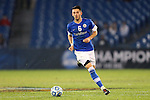 07 December 2012: Creighton's Brendan Hines-Ike. The Creighton University Bluejays played the Indiana University Hoosiers at Regions Park Stadium in Hoover, Alabama in a 2012 NCAA Division I Men's Soccer College Cup semifinal game. Indiana won the game 1-0.