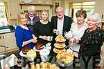 At the Tea Day at  Churchill on Sunday in Aid of Motor Neurone Disease were Michelle Burke, Brian Ferris, Muireann O'Mahony, Martin Ferris, Ina Ferris and Marie Ferris