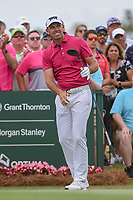 Charl Schwartzel (RSA) watches his tee shot on 1 during round 4 of The Players Championship, TPC Sawgrass, at Ponte Vedra, Florida, USA. 5/13/2018.<br /> Picture: Golffile | Ken Murray<br /> <br /> <br /> All photo usage must carry mandatory copyright credit (&copy; Golffile | Ken Murray)