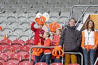 Holländische Fans kommen in die ArenA
