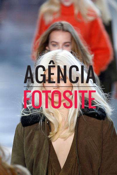 Paris, Franca &ndash; 02/2014 - Desfile de H &amp; M durante a Semana de moda de Paris - Inverno 2014. <br /> Foto: FOTOSITE