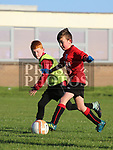 Padraic Connor (Walshestown) and Callum Clarke (Drogheda Town Eagles) as Drogheda Town Eagles V Walshestown U11<br /> <br /> <br /> photo - Jenny Matthews