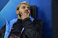 Sergio Kun Aguero of Manchester City <br /> Milano 06-11-2019 Stadio San Siro <br /> Football Champions League 2019/2020 Group C <br /> Atalanta - Manchester City <br /> Photo Andrea Staccioli / Insidefoto