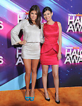 Daniella Monet and Victoria Justice at the TeenNick HALO Awards held at The Palladium in Hollywood, California on November 17,2012                                                                               © 2012 Hollywood Press Agency
