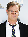 Actor Rainn Wilson arrives to the 2008 MTV Movie Awards on June 1, 2008 at the Gibson Amphitheatre in Universal City, California.