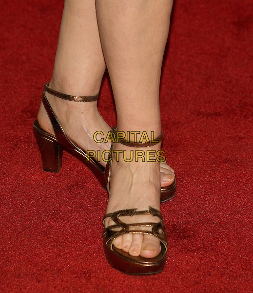 "SUSAN SARANDON.2008 Tribeca Film Festival - Premiere of ""Speed Racer"" at the Tribeca Performing Arts Center,  New York, NY, USA,.May 3, 2008..feet shoes strappy sandals.CAP/LNC/TOM.©LNC/Capital Pictures"
