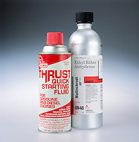 ANHYDROUS ETHYL ETHER &amp; ENGINE STARTER<br />