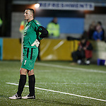 Rab Douglas dejected as Rangers put two late goals past him