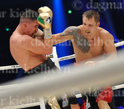 April 01-17,Westfalenhalle,Dortmund, Nordrhein-Westfalen, Germany<br /> vacant WBC World cruiserweight title<br /> International Boxing Organization World cruiserweight title<br /> Marco Huck,Berlin,Germany vs Mairis Briedis ,Riga, Latvia<br /> Mairis Briedis of Latvia defeated Marco Huck by unanimous decision to take the WBC cruiserweight title and the German's minor IBO belt