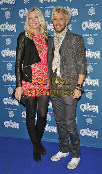 LONDON, ENGLAND - JANUARY 07: Rachel &amp; Rick Parfitt Jnr attend the &quot;Cirque du Soleil: Quidam&quot; VIP press night, Royal Albert Hall, Kensington Gore, on Tuesday January 07, 2014 in London, England, UK.<br /> CAP/CAN<br /> &copy;Can Nguyen/Capital Pictures