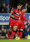 2nd December 2017, Goodison Park, Liverpool, England; EPL Premier League football, Everton versus Huddersfield Town; Daniel Williams of Huddersfield Town on the ball