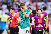 nella foto: Thomas Muller ONLY ITALY<br /> Kazan 27-06-2018 Football FIFA World Cup Russia  2018 <br /> South Korea - Germany / Corea del Sud - Germania<br /> Foto Imago/Insidefoto