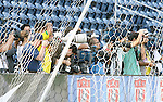 08 September 2007: The media shoots practice. The Brazil Men's National Team practiced at Toyota Park in Bridgeview, Illinois.
