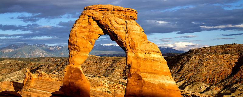 Delicate Arch, Arches National Park. Utah.