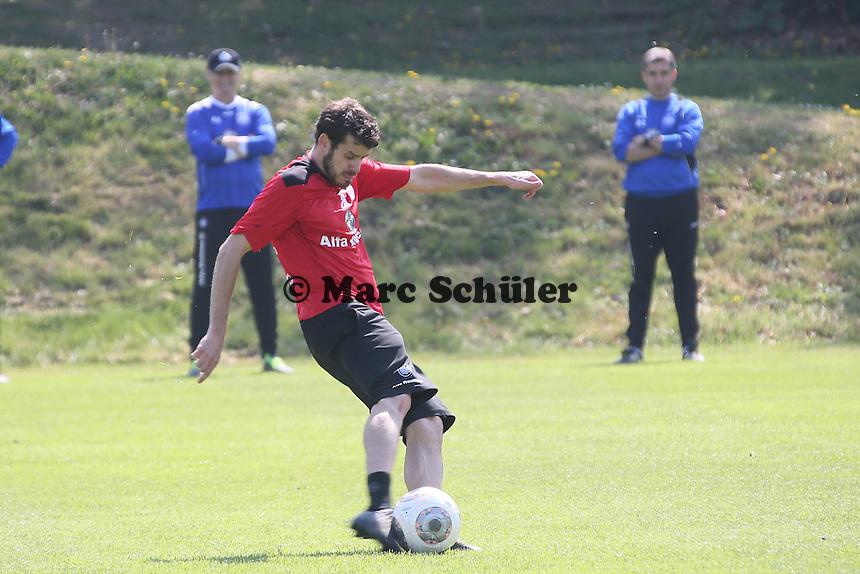 Tranquillo Barnetta (Eintracht) - Eintracht Frankfurt Training, Commerzbank Arena