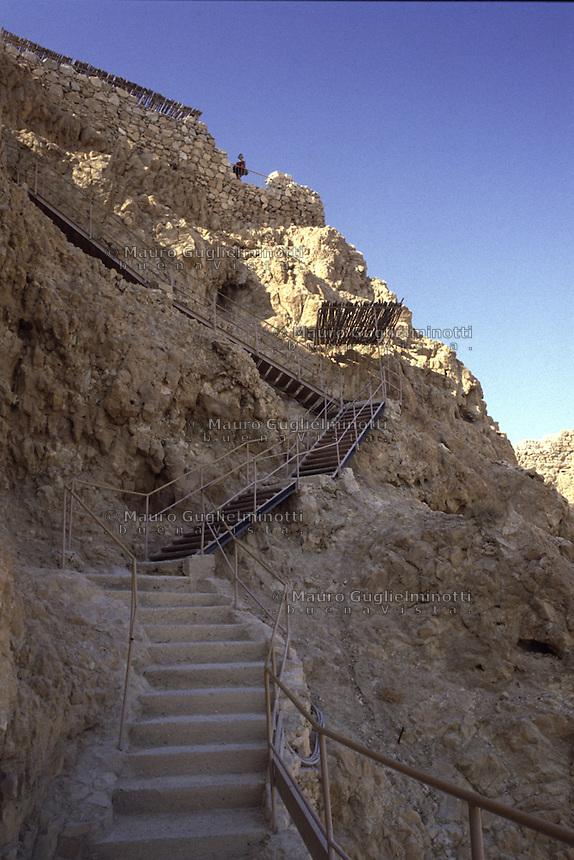 Israele, fortezza di Masada