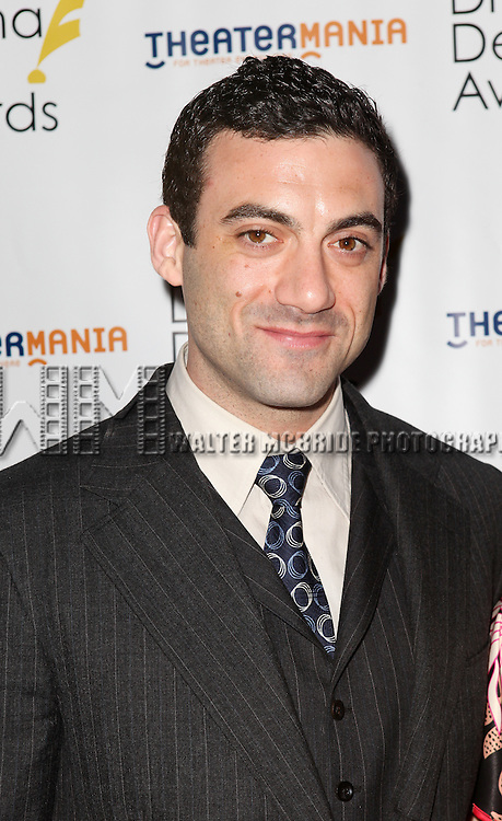 Morgan Spector pictured at the 57th Annual Drama Desk Awards held at the The Town Hall in New York City, NY on June 3, 2012. © Walter McBride