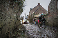 on the Chemin de Wih&eacute;ries cobble section (Honelles)<br /> <br /> GP Le Samyn 2017 (1.1)