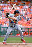 5 August 2007: St. Louis Cardinals shortstop David Eckstein in action against the Washington Nationals at RFK Stadium in Washington, DC. The Nationals defeated the Cardinals 6-3 to sweep their 3-game series...Mandatory Photo Credit: Ed Wolfstein Photo