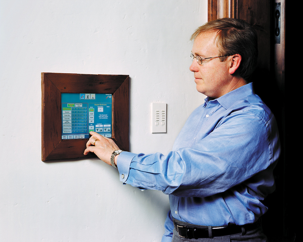 Easy to use, Home Control Touch Panel