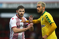A Stevenage trialist in action during Stevenage vs Norwich City, Friendly Match Football at the Lamex Stadium on 11th July 2017