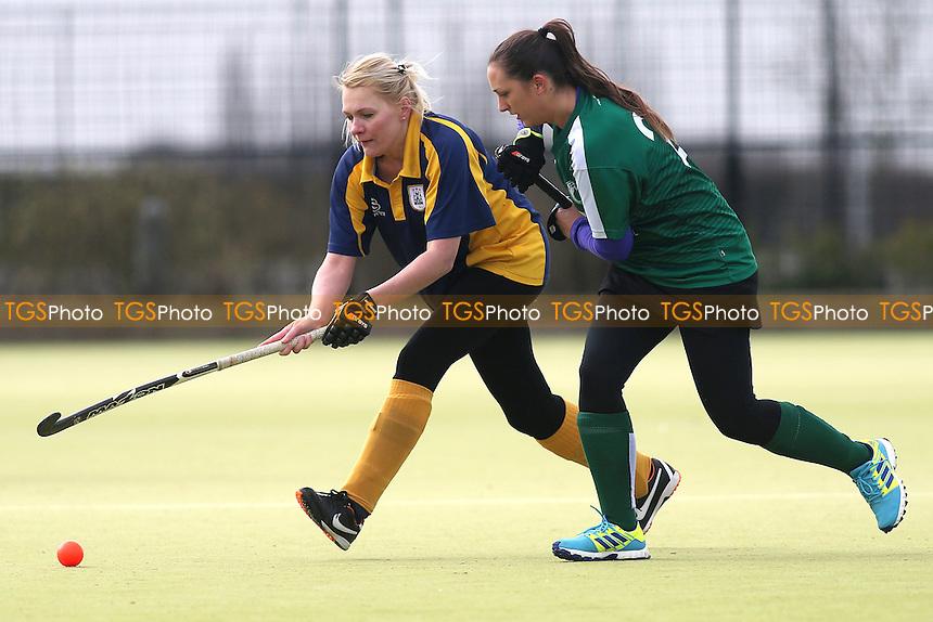 Harlow HC Ladies vs Romford HC Ladies, Essex Women's League Field Hockey at Leventhorpe School on 4th March 2017