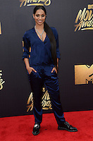 Lilly Singh @ the 2016 MTV Movie Awards held @ the Warner studios.<br /> April 9, 2016