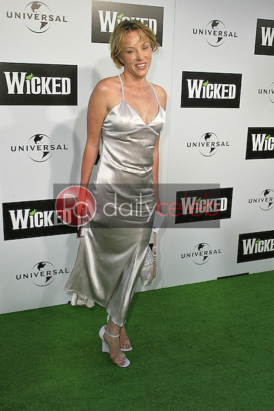 """Jenny McShane<br /> at the LA Premiere of Universal's """"Wicked,"""" Pantages Theater, Hollywood, CA 06-22-05<br /> David Edwards/DailyCeleb.Com 818-249-4998"""