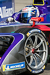 Sam Bird of Great Britain from DS Virgin Racing competes during the FIA Formula E Hong Kong E-Prix Round 2 at the Central Harbourfront Circuit on 03 December 2017 in Hong Kong, Hong Kong. Photo by Victor Fraile / Power Sport Images