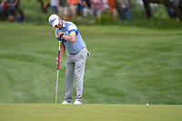 Justin Harding (RSA) watches his putt on 1 during day 2 of the Valero Texas Open, at the TPC San Antonio Oaks Course, San Antonio, Texas, USA. 4/5/2019.<br /> Picture: Golffile | Ken Murray<br /> <br /> <br /> All photo usage must carry mandatory copyright credit (© Golffile | Ken Murray)