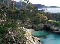 Point Lobos - China Cove, California.